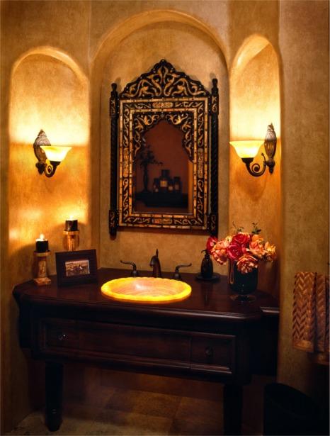 اجمل اكسسوارات الحمامات ،ديكورات مكسيكيه