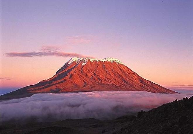 حل اعلى جبل في افريقيا ويغطيه الثلج مكون من 8 ثمانية حروف